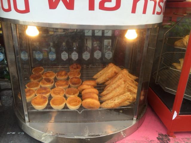 チェンマイ朝食@egg tart