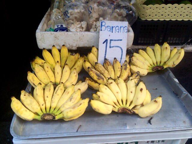 市場のフルーツ バナナ
