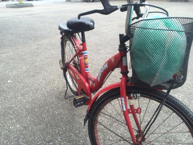 自転車 @チェンマイ