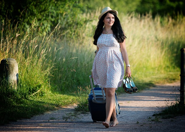 旅行 女性 旅