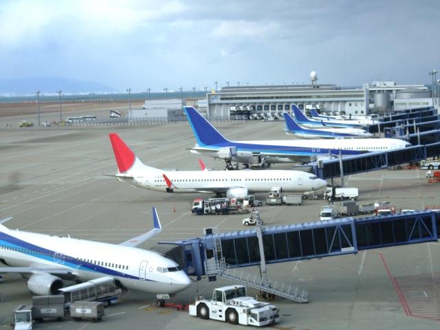 空港 飛行機