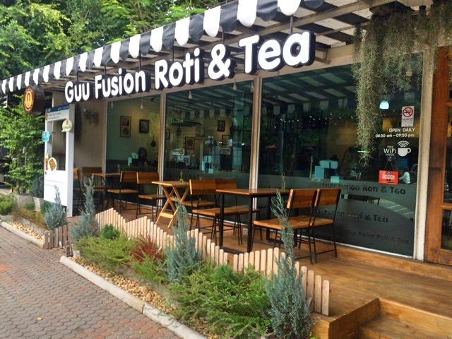 カフェ ロティ Guu Fusion Roti & Tea