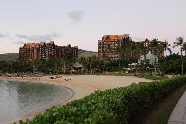 ホテル アウラニ・ディズニー ハワイ・コオリナ