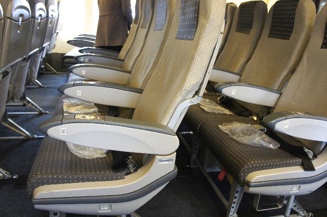 機内 座席