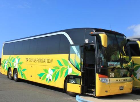 ハワイ シャトルバス JTBあいのり送迎