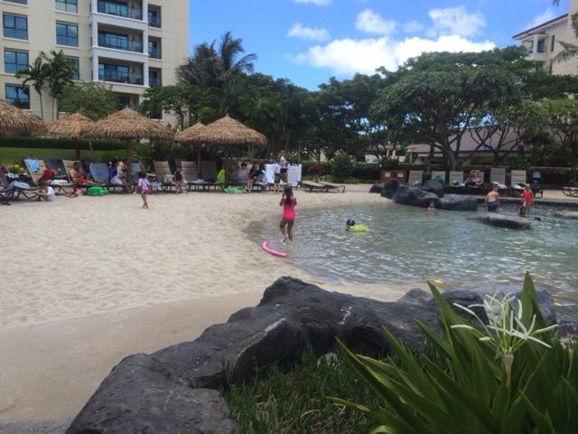 hawaii2016 コオリナ プール
