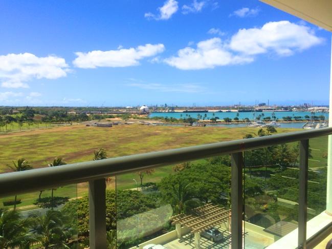 hawaii2016 コオリナ お部屋からの景色