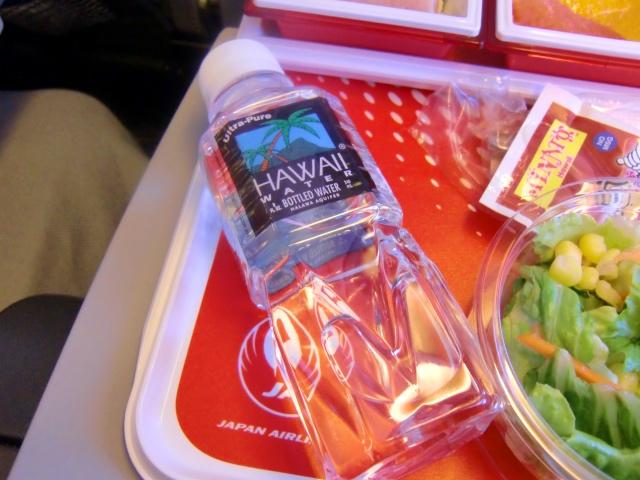 hawaii2016 JAL機内食 ハワイー成田