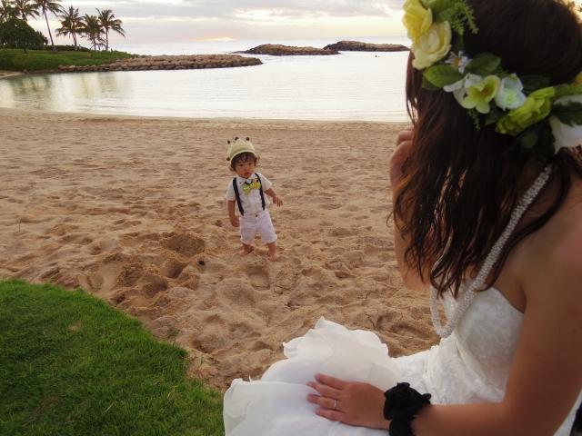 赤ちゃんハワイ旅行