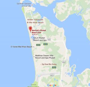 map プーケット・マイカオ