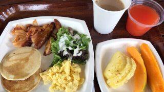 キングスランドで朝食ブッフェ