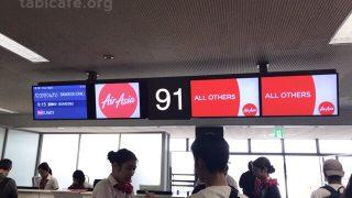 初のエアアジアに国際線も国内線も搭乗!乗り継ぎ時間はたっぷりすぎたっ(笑)