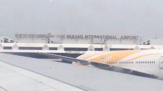 ドンムアン空港に到着!初のドンムアンで乗り継ぎタイムはラウンジで過ごすよ。