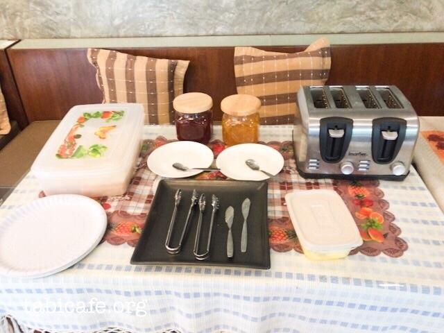 サンシャインハウスの無料朝食