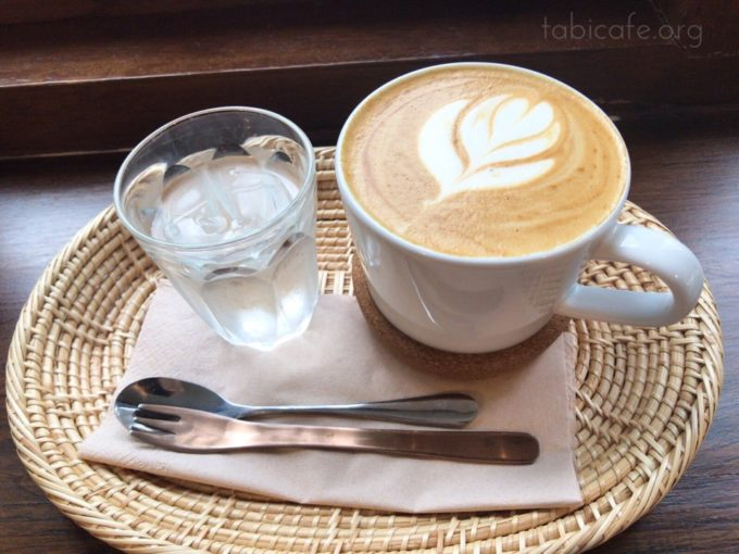 coffeecookiecake カフェラテ